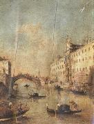 Francesco Guardi Gondola sulla laguna (mk21) china oil painting reproduction