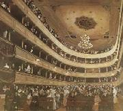 Gustav Klimt Auditorium of the old Burgtheater (mk20) china oil painting reproduction