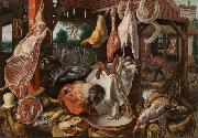 Pieter Aertsen Butcher's Stall (mk14) china oil painting reproduction