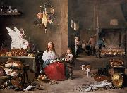 TENIERS, David the Younger Kitchen Scene (mk14) china oil painting reproduction
