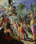 Adam  Elsheimer The Stoning of Saint Stephen (nn03) china oil painting reproduction