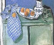 Henri Matisse Still Life on a Green Sideboard (mk35) china oil painting reproduction