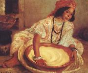 Henry d Estienne La Preparation du couscous (mk32) china oil painting reproduction