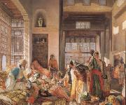 John Frederick Lewis An Intercepted Correspondance,Cairo (mk32) china oil painting reproduction