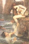John William Waterhouse The Siren (mk41) china oil painting reproduction