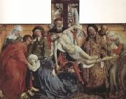 Rogier van der Weyden The Descent from the Cross (nn03) china oil painting reproduction