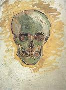 Vincent Van Gogh Skull (nn04) china oil painting reproduction
