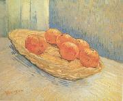 Vincent Van Gogh Still Life:Basket with Six Oranges (nn04) china oil painting reproduction