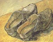 Vincent Van Gogh A pair of wooden Clogs (nn04) china oil painting reproduction