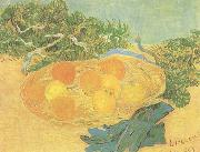 Vincent Van Gogh Still life:Oranges,Lomons and Blue Gloves (nn04) china oil painting reproduction
