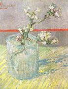 Vincent Van Gogh Blossoming Almond Branch in a Glass (nn04) china oil painting reproduction