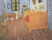 Vincent Van Gogh Vincent's Bedroom in Arles (nn04) china oil painting reproduction