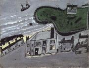 Alfred Wallis The Hold House Port Mear Square Island port Mear Beach oil