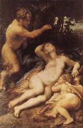 Correggio Zeus and Antiope china oil painting reproduction