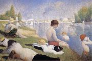 Georges Seurat Bathers at Asnieres china oil painting reproduction