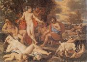 Nicolas Poussin Midas and Bacchus china oil painting reproduction