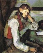 Paul Cezanne Boy with a Red Waistcoat china oil painting reproduction