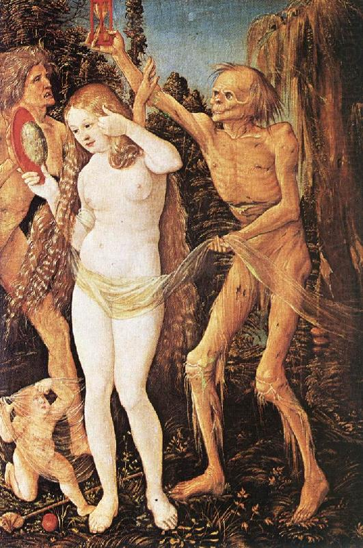 Three Ages of the Woman and the Death  rt4, BALDUNG GRIEN, Hans