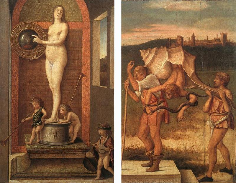 Four Allegories: Prudence and Falsehood, BELLINI, Giovanni