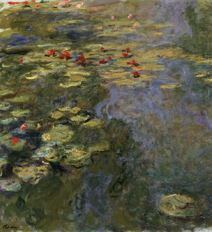 The Water-Lily Pool, Claude Monet
