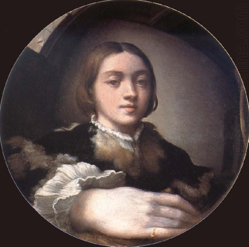 How Was Parmigianino S Self Portrait In A Convex Mirror Painted