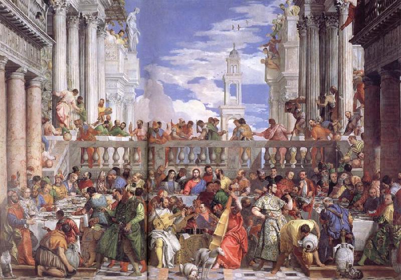 The Wedding at Cana VERONESE (Paolo Caliari) Wholesale Oil ... Wedding At Cana Veronese