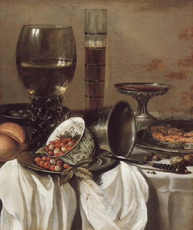Still Life with Drinking Vessels, Pieter Claesz