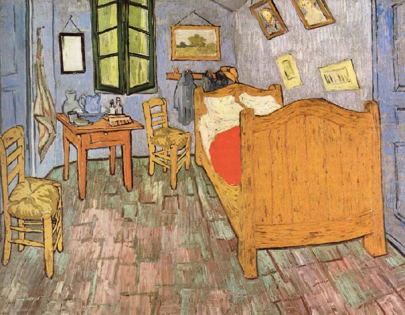 Bedroom in Arles Vincent Van Gogh Wholesale Oil Painting