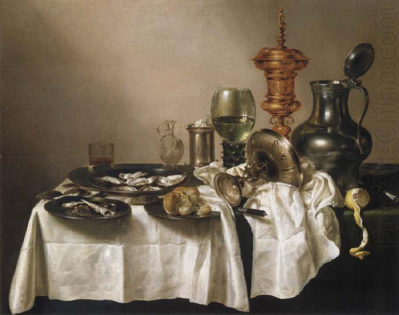 Style life with gilded cup, Willem Claesz Heda