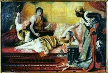 Arab or Arabic people and life. Orientalism oil paintings  257, unknow artist