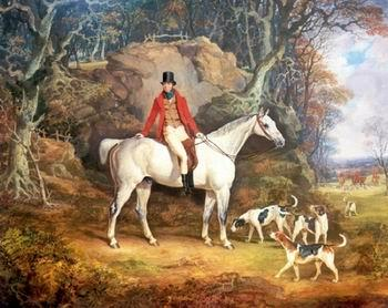 Classical hunting fox, Equestrian and Beautiful Horses, 239.., unknow artist