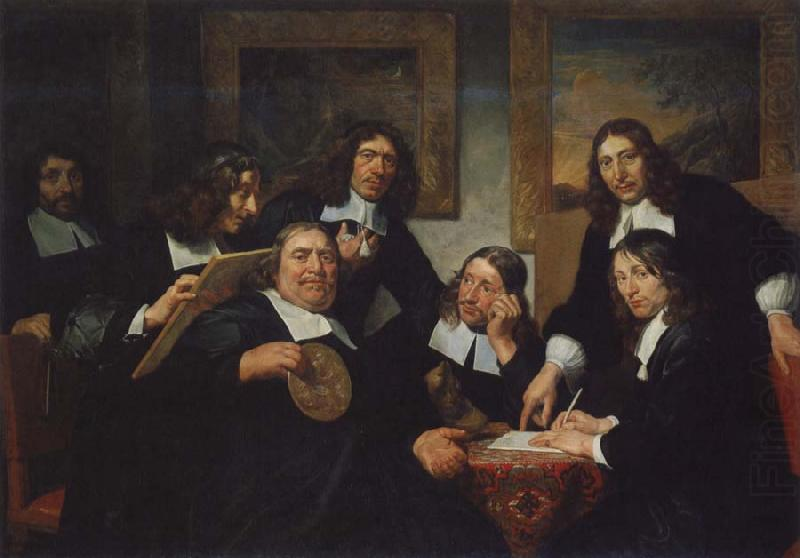 The Governors of  the Guild of St Luke,Haarlem, REMBRANDT Harmenszoon van Rijn