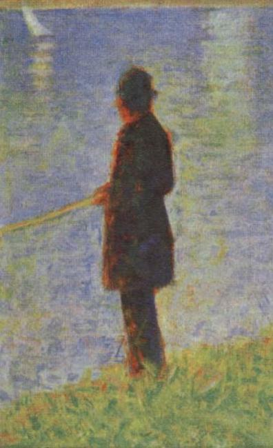 Angler, Georges Seurat