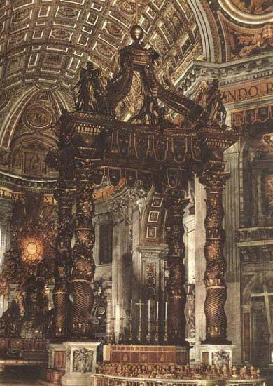 The Baldacchino, Giovanni Lorenzo Bernini