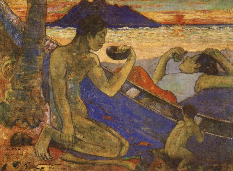 The Dug-Out, Paul Gauguin