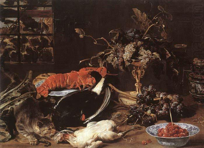 Still-life with Crab and Fruit, SNYDERS, Frans