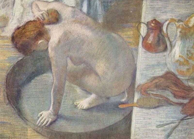 The Tub, Edgar Degas