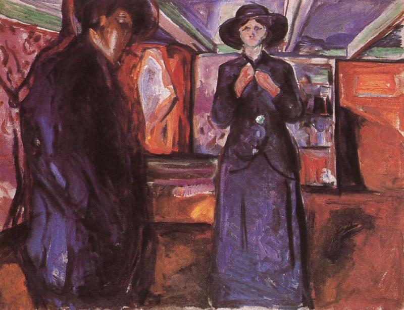 Female and Male, Edvard Munch