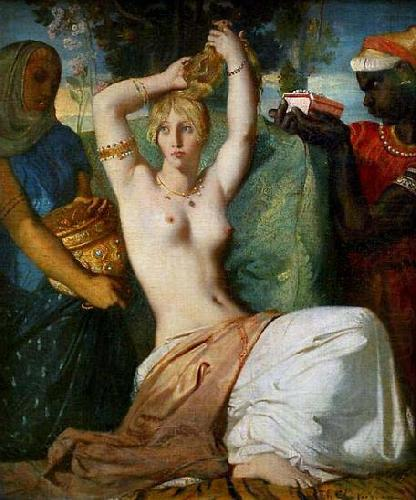 The Toilette of Esther, Theodore Chasseriau