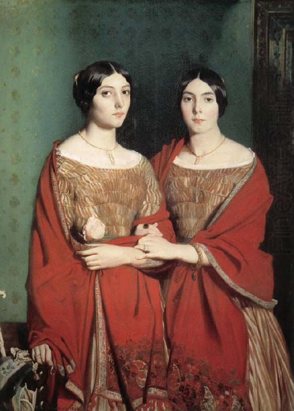 Two Sisters, Theodore Chasseriau