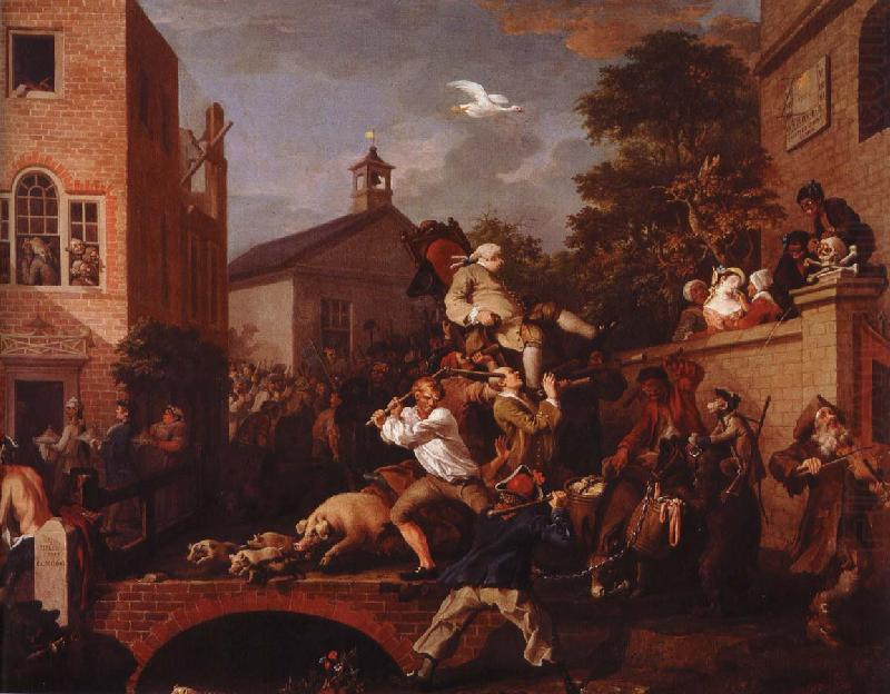 chairing the member, William Hogarth
