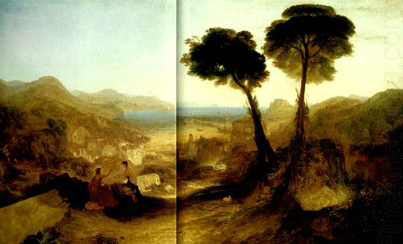 the bay of baiae with appllo and the sibyl, J.M.W.Turner