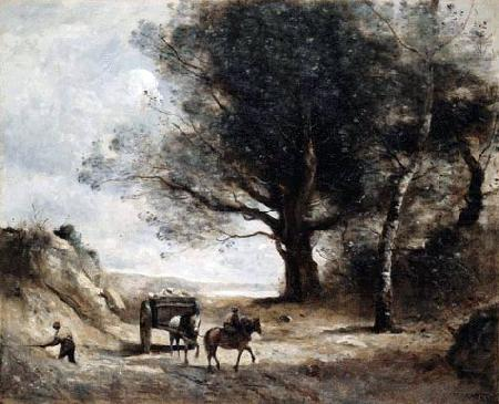 The Stonecutters, Jean-Baptiste-Camille Corot