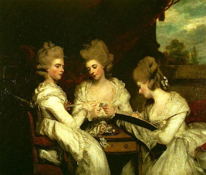 the ladies waldegrave Sir Joshua Reynolds Wholesale Oil