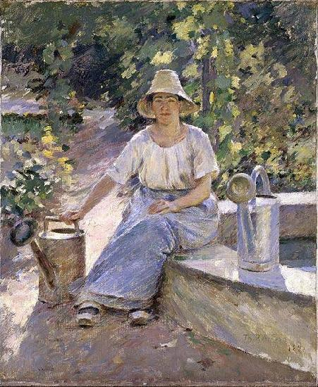 The Watering Pots, Theodore Robinson