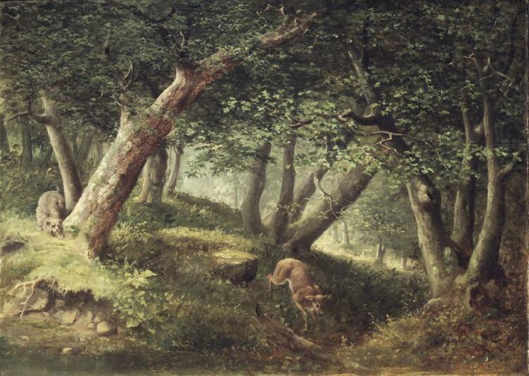 In the Forest, William Holbrook Beard