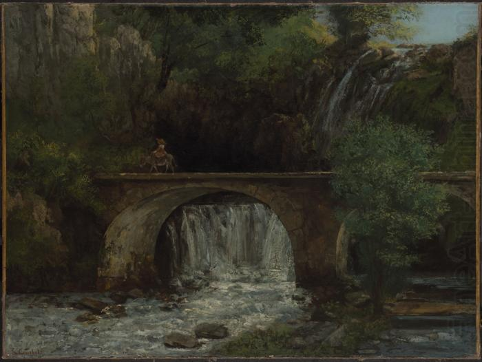 Le Grand Pont, Gustave Courbet