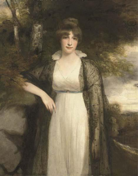 Portrait in oils of Eleanor Agnes Hobart, Countess of Buckinghamshire, John Hoppner