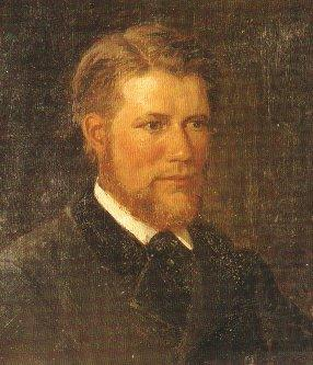 Contemporary painting of Adelsteen Normann, Adelsteen Normann