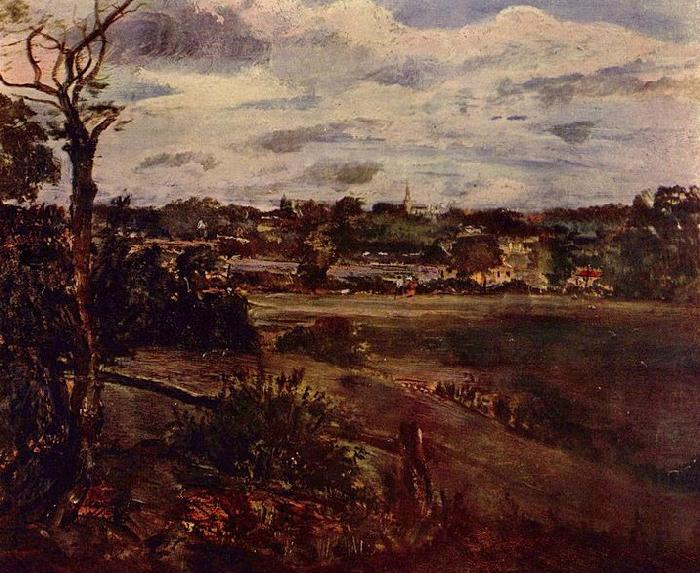 View of Highgate, John Constable